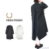 FRED PERRY Lady's #F8606 Fishtail Shirt Dress画像