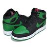 NIKE AIR JORDAN 1 OG GS black/pine green-white-gym red 575441-030画像