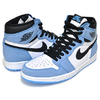 NIKE AIR JORDAN 1 HIGH OG UNIVERSITY BLUE white/black-university blue 555088-134画像