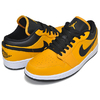 NIKE AIR JORDAN 1 LOW university gold/black-white 553558-700画像