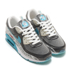 "NIKE W AIR MAX 90 SE ""SWOOSH MART"" BLACK/CHLORINE BLUE-WHITE-BEACH DD5483-010画像"