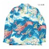 "SUN SURF L/S RAYON HAWAIIAN SHIRT ""DRAGON"" SS28554画像"