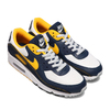 NIKE AIR MAX 90 WHITE/UNIVERSITY GOLD-MIDNIGHT NAVY DC9845-101画像