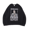 THE NEW ORDER NISHIMOTO IS THE MOUTH CREW NECK BLACK画像