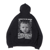 THE NEW ORDER NISHIMOTO IS THE MOUTH HOODIE BLACK画像