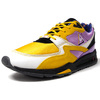 "le coq sportif LCS R800 SHERUT ""Made in FRANCE"" ""SNEAKERBOX"" YELLOW/PURPLE/BLACK 2010785画像"