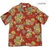 "SUN SURF S/S RAYON HAWAIIAN SHIRT ""UNITED AIRLINE"" SS38570画像"