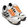 adidas ZX 6000 AZX CRYSTAL WHITE/CORE BLACK/BAHIA ORANGE FZ0345画像