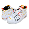 NIKE AIR MORE UPTEMPO (GS) RAYGUNS white/university gold DD9282-100画像