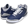 NIKE AIR JORDAN 3 RETRO midnight navy/white CT8532-401画像