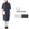 FRED PERRY Lady's #F8613 MockNeck S/S Dress画像