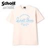 Schott NATURAL LOGO T-SHIRT 3113085画像