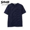 Schott SS INDIGO WABASH T-SHIRT 3113110画像