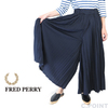FRED PERRY Lady's #F8622 Pleated Tricot TrackPants画像