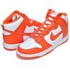 NIKE DUNK HI RETRO SYRACUSE white/orange blaze-wht DD1399-101画像