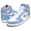 NIKE AIR JORDAN 1 RETRO HIGH OG hyper royal/white 555088-402画像