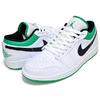 NIKE AIR JORDAN 1 LOW white/stadium green-black 553558-129画像