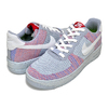NIKE AF1 CRATER FLYKNIT (GS) wolf grey/white-pure platinum DH3375-002画像