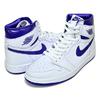NIKE WMNS AIR JORDAN 1 HIGH OG METALLIC COURT PURPLE white/court purple CD0461-151画像