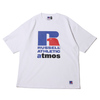 atmos × Russell Athletic LOGO TEE WHITE MAT21-SM018画像