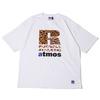 atmos × Russell Athletic ANIMAL LOGO TEE WHITE MAT21-SM019画像