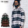 CRIMIE WOOL CHECK SHIRT JACKET CR1-02A5-JK15画像