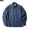 BLUCO STANDARD WORK SHIRTS L/S (NAVY) OL-109-021画像