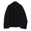 blurhmsROOTSTOCK Wool Melton Zip Jacket画像