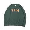 FILA LOGO Crewneck Shirt GREEN FS3077-26画像