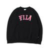 FILA LOGO Crewneck Shirt BLACK FS3077-08画像