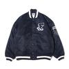 FILA Award Stadium Jacket NAVY FS3066-20画像