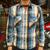 THE REAL McCOY'S JOE McCOY 8HU CHECK FLANNEL SHIRTS Lot.938 MS12149画像