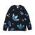 adidas ZENO LS TEE BLACK/TEAM ROYAL BLUE FS7340画像