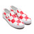 VANS CLASSIC SLIP ON CHECKER WHITE/RED VN0A4BV3TBV画像