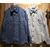 FREEWHEELERS NEAL Cotton/Linen Indigo Small Check 2013001画像