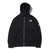 THE NORTH FACE SQUARE LOGO FULZIP HOODIE BLACK NT62038画像